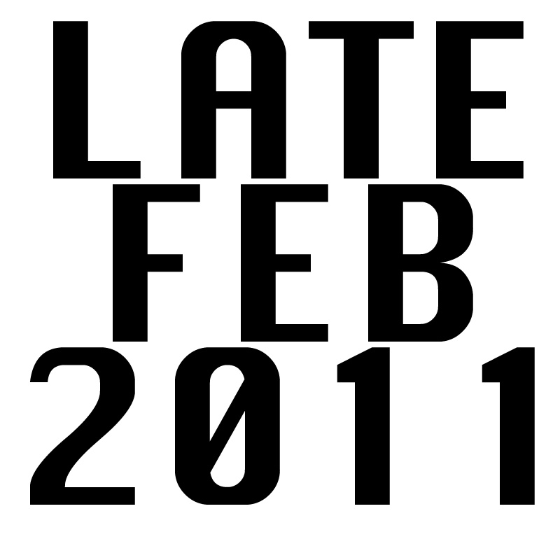 Cover art for 'The Unimaginitively Titled Late February Mix'