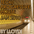 Cover art for 'House/Tech House/Progressive House Mix - Jan 2010'
